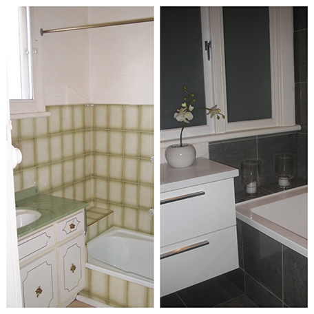 bathroom B & A
